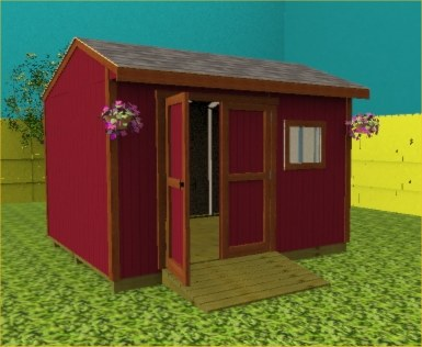 this backyard 12x10 wooden garden shed is 99 high with 7 tall - Garden Sheds 7 X 9