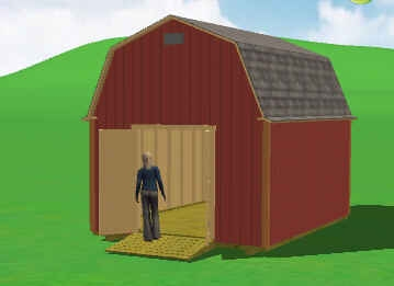 10x12 shed plans with loft