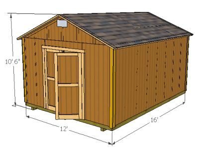 storage building plans with images