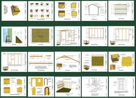 learn how to build a shed using my shed plans