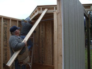 build a gable storage shed