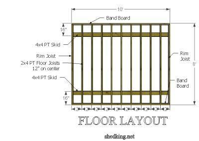 floor plans for sheds