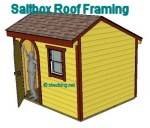 saltbox roof framing