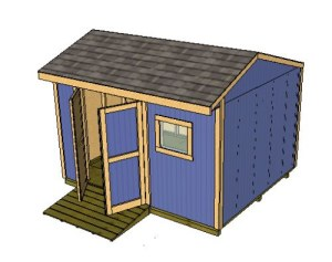 12x10 saltbox shed designs