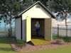 10 x 10 gable shed plans