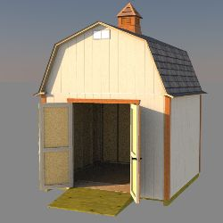 free cupola plans come with these 10x10 barn shed plans