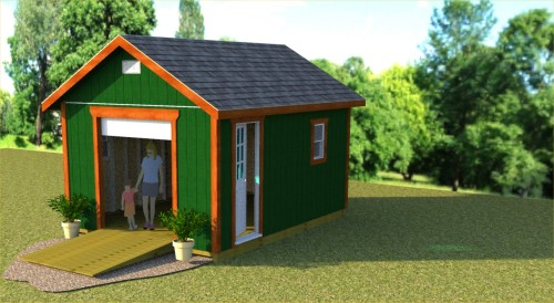 plans for 12x16 storage shed with roll up shed doo