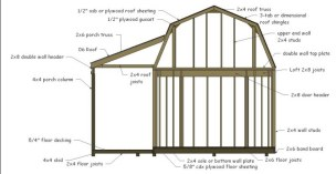 barn shed plans