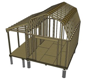 Image Result For Sketchup Shed Plans Roofa