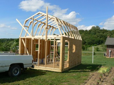 Shed Design Ideas view in gallery shed design ideas 12x16 Barn From Scott Ryan Shed Plans