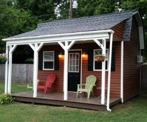 12x16 barn style shed home plans