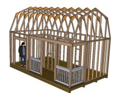 Plans For Barn Style Shed