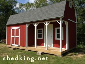 12x24 shed with porch