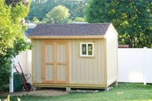 Simple Garden Sheds Lowes Buildings Metal Building Kits Throughout