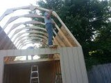 how to build a shed roof