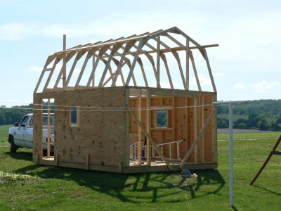 Pictures of sheds storage shed plans shed designs for How to build a 2 story shed