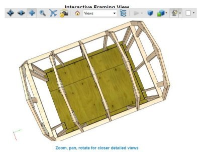 3d interactive pdf file included with these shed plans