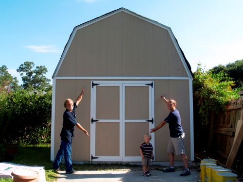 12x16 barn shed