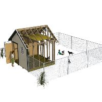 Dog kennel shed ideas