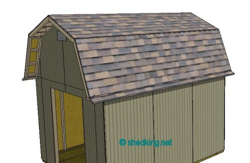Shed Roof Gambrel How To Build A Shed Shed Roof