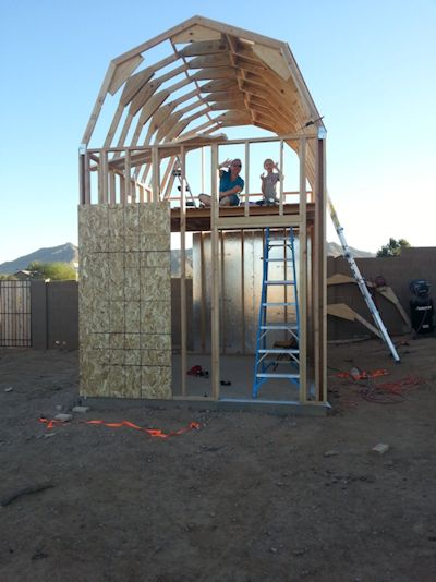pictures of glenns playhouse shed
