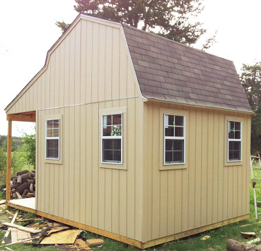 how to build a easy shed