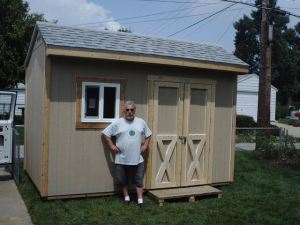 12x8 saltbox shed plans