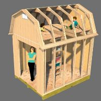 Playhouse shed ideas