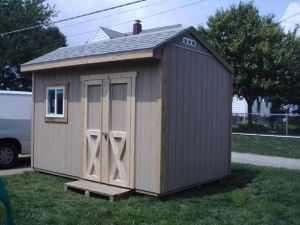 12x8 saltbox storage shed plans