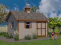 12x16 Gable Garden shed plans