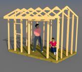 Plans for saltbox sheds