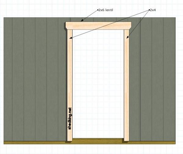 sc 1 st  Shedking & Single Shed Doors