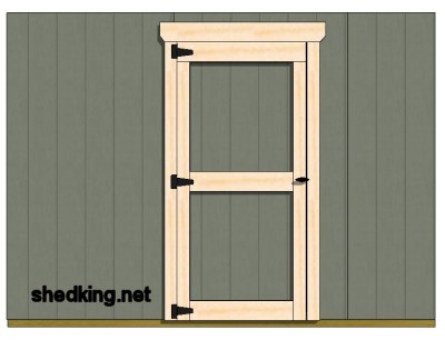 how to build a simple door frame 2