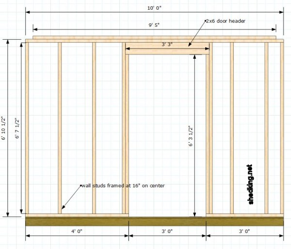 Building Single Shed Doors Made Easy