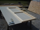 Shed doors are easy to build