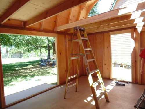 How to add a loft to your shed