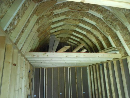 small attic uses - Building a Shed Loft Made Easy