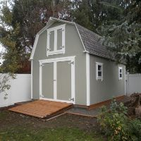 12x16 storage shed ideas