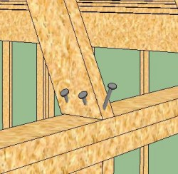 how to build a shed truss