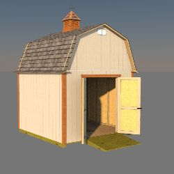 10x10 Barn Shed Plans