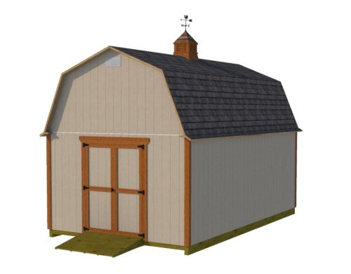 12x20 barn shed plans.