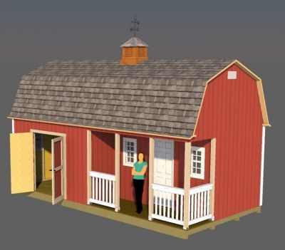 plans for building a big 12x24 storage shed