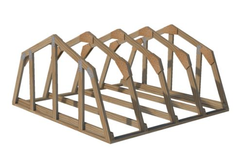 gambrel truss plans