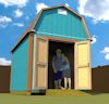 8x12 barn shed plans