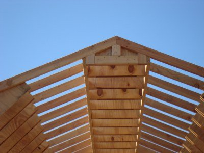 barn shed gussets with purlins added