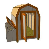 Chicken coop shed ideas