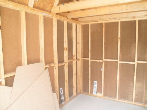 Nice big lofts in the 12x16 barn shed