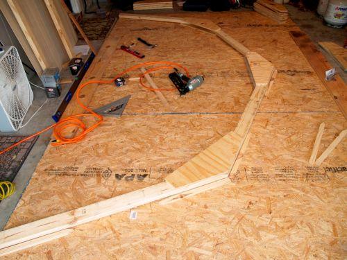 Building the 12x16 trusses