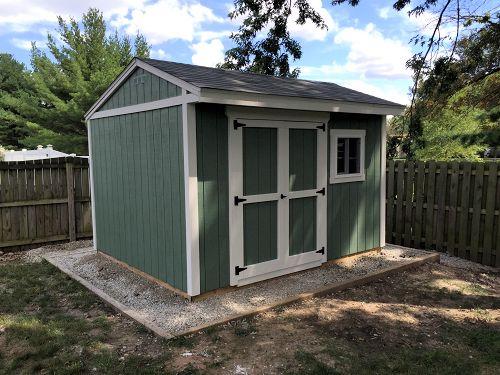 Dans 12x10 saltbox shed