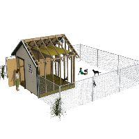 Dog kennel shed ideas